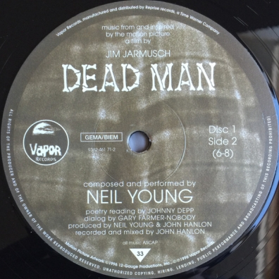 Neil Young (Нил Янг): Dead Man: A Film By Jim Jarmus