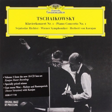 Sviatoslav Richter (Святослав Рихтер): Tchaikovsky: Pno Cto No.1; Variations On A Rococo