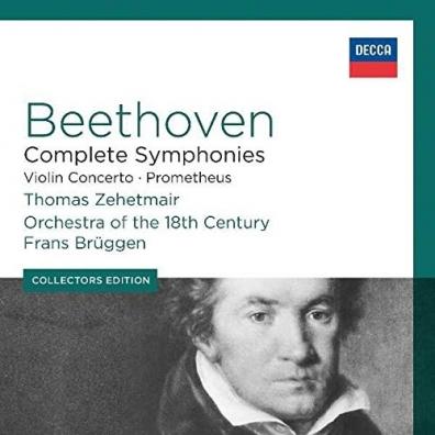 Frans Bruggen (Франс Брюгген): Beethoven: The Complete Symphonies