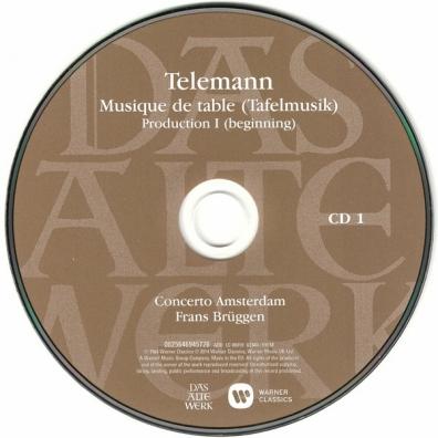 Frans Bruggen (Франс Брюгген): Tafelmusik Complete