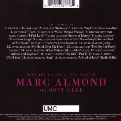 Marc Almond (Марк Алмонд): Hits And Pieces - The Best Of Marc Almond & Soft Cell