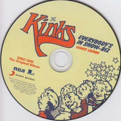 The Kinks (Зе Кингс): Everybody's In Showbiz