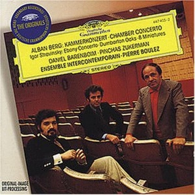 Pierre Boulez (Пьер Булез): Berg: Chamber Concerto / Stravinsky: Ebony Concert