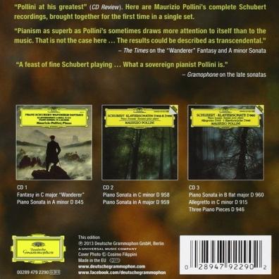 Maurizio Pollini (Маурицио Поллини): Schubert Complete Edition