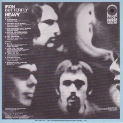 Iron Butterfly (Айрон Баттерфляй): Original Album Series (Heavy / In-A-Gadda-Da-Vida / Ball / Live / Metamorphosis)