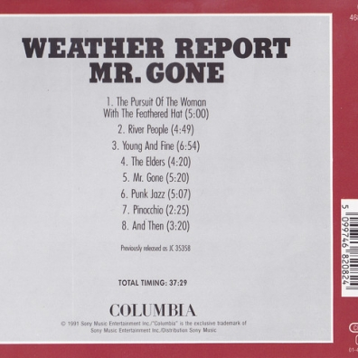 Weather Report (Веазер Репорт): Mr. Gone
