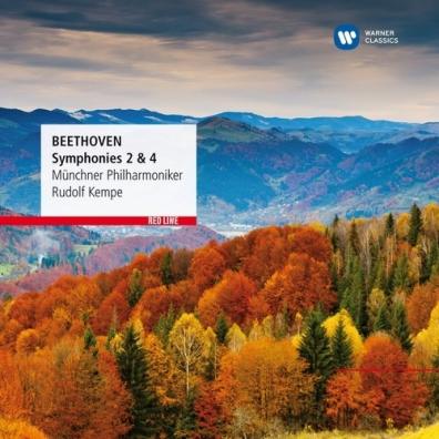 Rudolf Kempe (Рудольф Кемпе): Symphonies Nos. 2&4