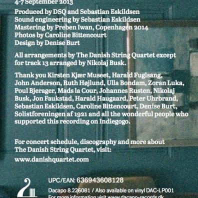 Danish String Quartet: Wood Works