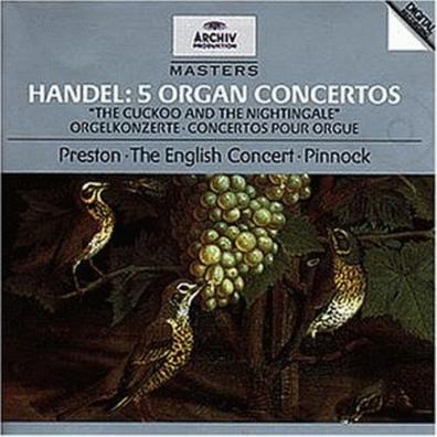 Simon Preston (Саймон Престор): Handel: 5 Organ Concertos