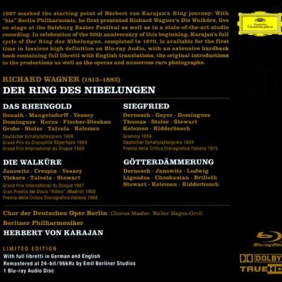 Herbert von Karajan (Герберт фон Караян): Wagner: Der Ring des Nibelungen