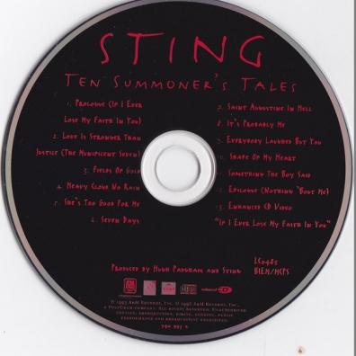 Sting (Стинг): Ten Summoner's Tales