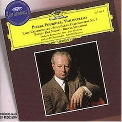 Pierre Fournier (ПьерФурнье): Lalo: Cello Concerto / Saint-Saens:Cello Concerto