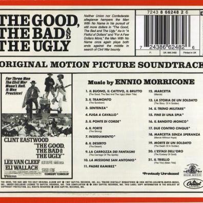 Ennio Morricone (Эннио Морриконе): The Good, The Bad And The Ugly