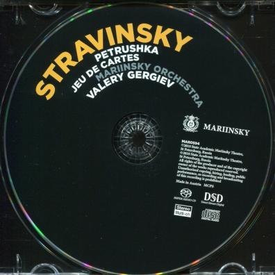 Igor Stravinsky (Игорь Фёдорович Стравинский): Stravinsky: Petrushka/Jeu De Cartes