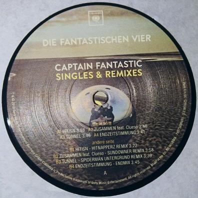 Die Fantastischen Vier (Дие фантастишен фюр): Captain Fantastic Singles & Remixes