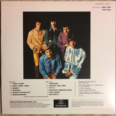The Hollies (Зе Холлиес): Butterfly