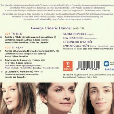 Georg Friedrich Händel (Георг Фридрих Гендель): Italian Cantatas