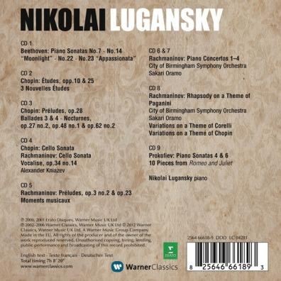 Nikolai Lugansky (Николай Луганский): Chopin, Rachmaninov, Beethoven & Prokofiev