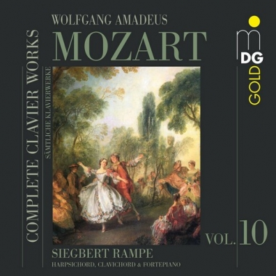 Siegbert Rampe (Сиегберт Рампе): Complete Clavier Works Vol. 10