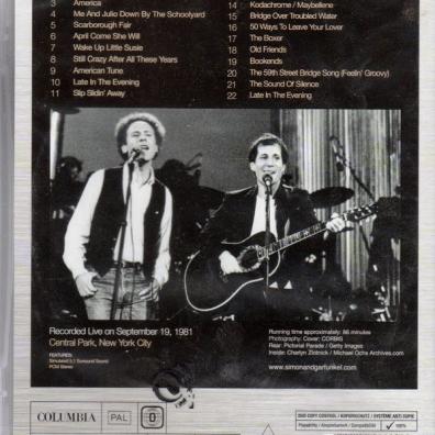 Simon & Garfunkel (Симон И Гарфункель): The Concert In Central Park