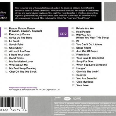 The Definitive Groove Collection Chic купить на компакт