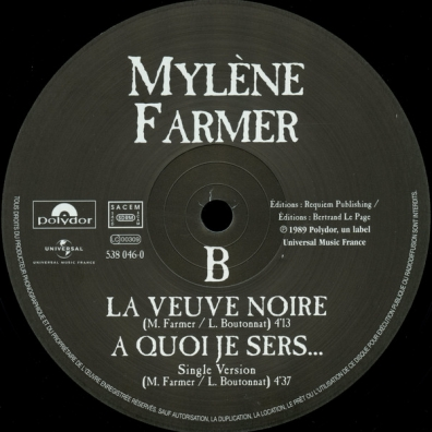 Mylene Farmer (Милен Фармер): A Quoi Je Sers
