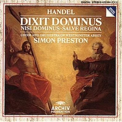 Orchestra of Westminster Abbey: Handel: Dixit Dominus; Nisi Dominus; Salve Regina