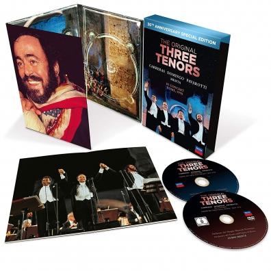 Luciano Pavarotti (Лучано Паваротти): The Three Tenors - 30th Anniversary Version