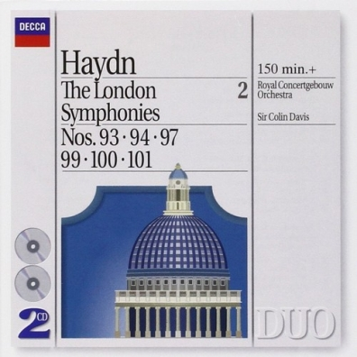 Sir Colin Davis (Колин Дэвис): Haydn: The London Symphonies - Nos. 93, 94, 97 & 9