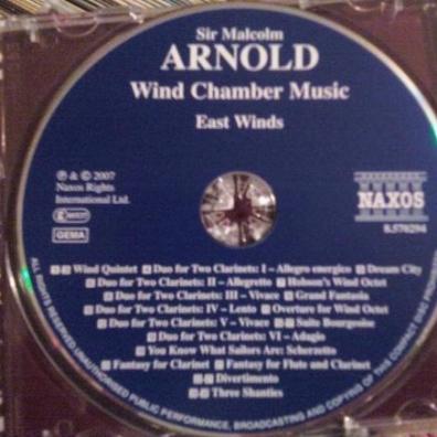Malcolm Arnold (Малкольм Арнольд): Arnold: Wind Chamber Music