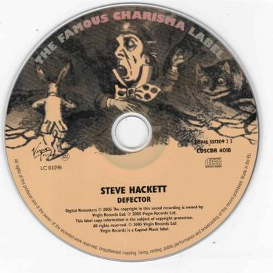 Steve Hackett (Стив Хэкетт): Defector