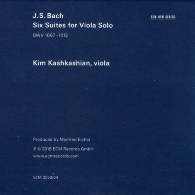 Kim Kashkashian (Ким Кашкашьян): J.S.Bach: Six Suites For Viola Solo