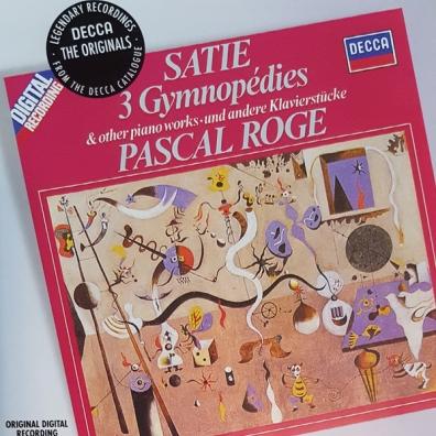 Pascal Rogé (Паскаль Роже): Satie: Piano Music