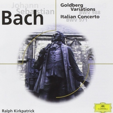 Ralph Kirkpatrick (Ралф Киркпатрик): Johann Sebastian Bach: Goldberg Variations; Italia