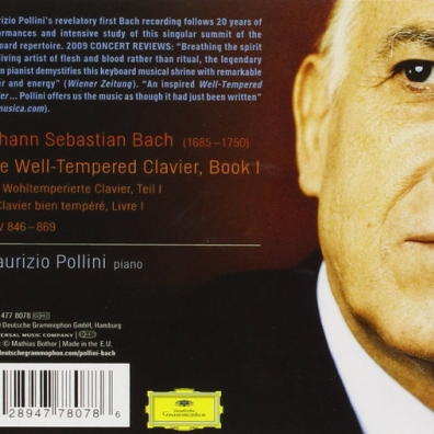 Maurizio Pollini (Маурицио Поллини): Bach: The Well Tempered Clavier