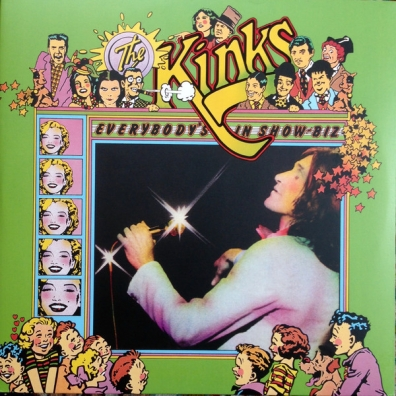 The Kinks (Зе Кингс): Everybody's In Showbiz