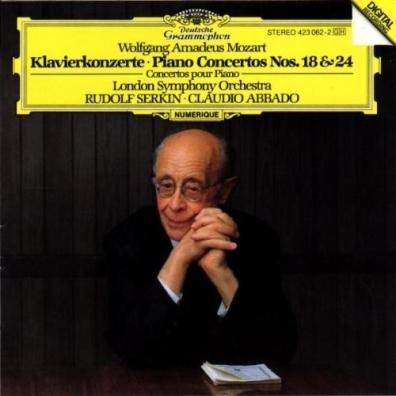Rudolf Serkin (Рудольф Сёркин): Mozart: Piano Concertos Nos.18 & 24