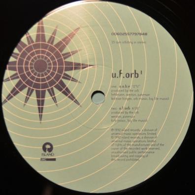 The Orb (Зе Орб): U.F.Orb