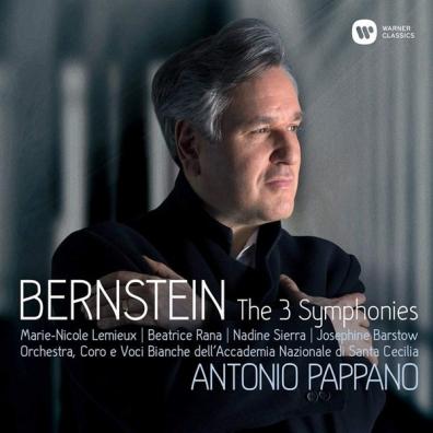 Leonard Bernstein (Леонард Бернстайн): Symphonies Nos. 1 - 3, Prelude, Fugue & Riffs