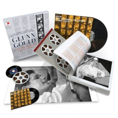 Glenn Gould (Гленн Гульд): The Goldberg Variations - The Complete Unreleased Recording Sessions June 1955