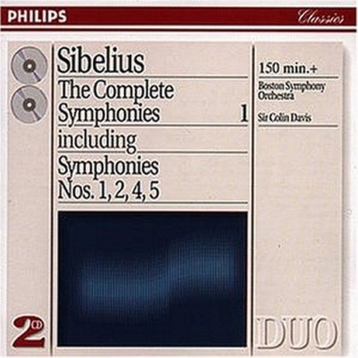 Sir Colin Davis (Колин Дэвис): Sibelius: The Complete Symphonies, Vol.1