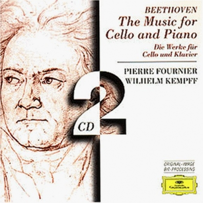 Pierre Fournier (Пьер Фурнье): Beethoven: The Music for Cello and Piano