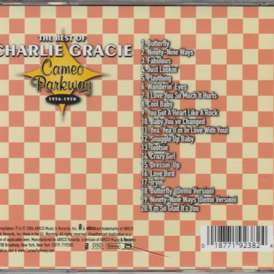 Charlie Gracie (Чарли Грейси): The Best Of 1956-1958