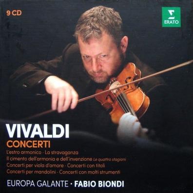 Fabio Biondi (Фабио Бьонди): Concerti