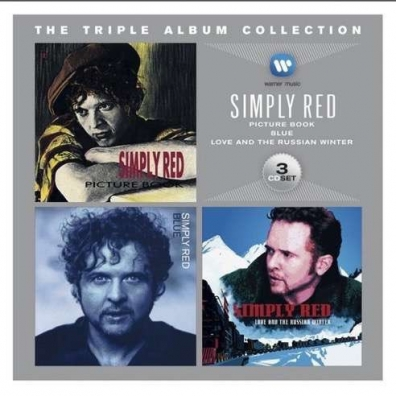 Simply Red (Симпли Ред): The Triple Album Collection: Picture Book / Blue / Love And The Russian Winter