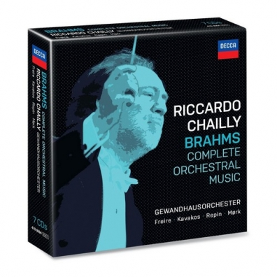 Riccardo Chailly (Рикардо Шайи): Brahms Complete Orchestral Works