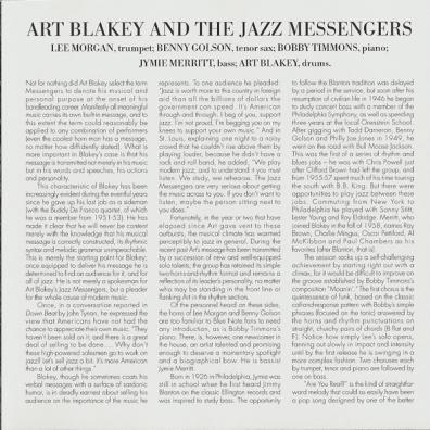 Art Blakey (Арт Блейки): Moanin`