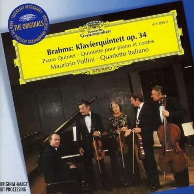 Maurizio Pollini: Brahms: Piano Quintet Op. 34