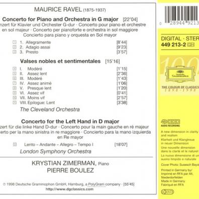 Krystian Zimerman (Кристиан Цимерман): Ravel