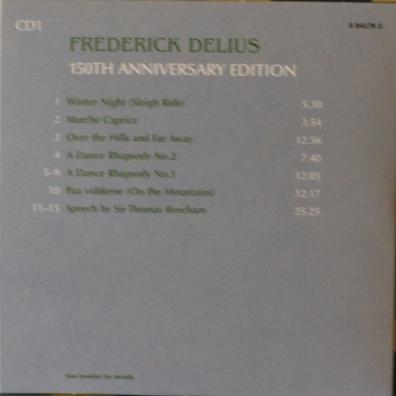 Frederick Delius (Фредерик Делиус): Delius Box: 150Th Anniversary